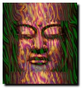 michael albers - buddha head