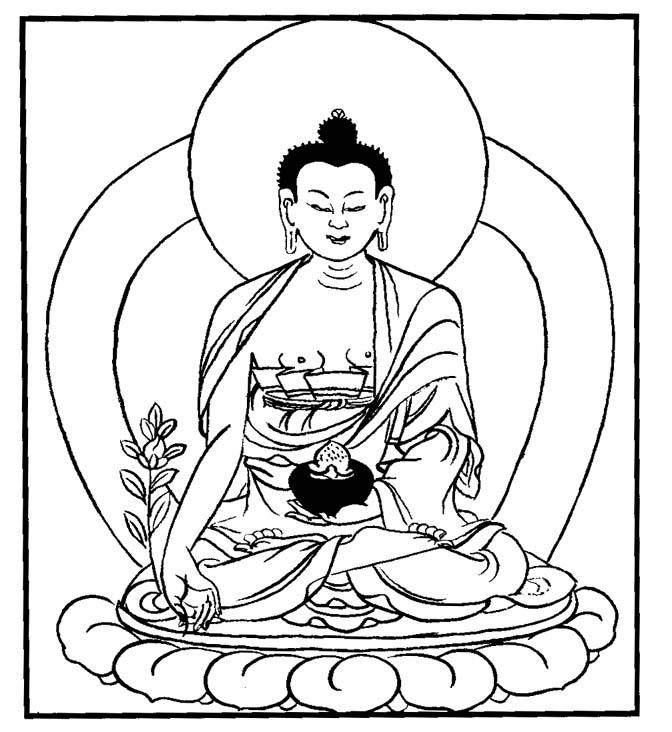 Buddha Face Line Drawing : Buddha outline drawing pixshark images